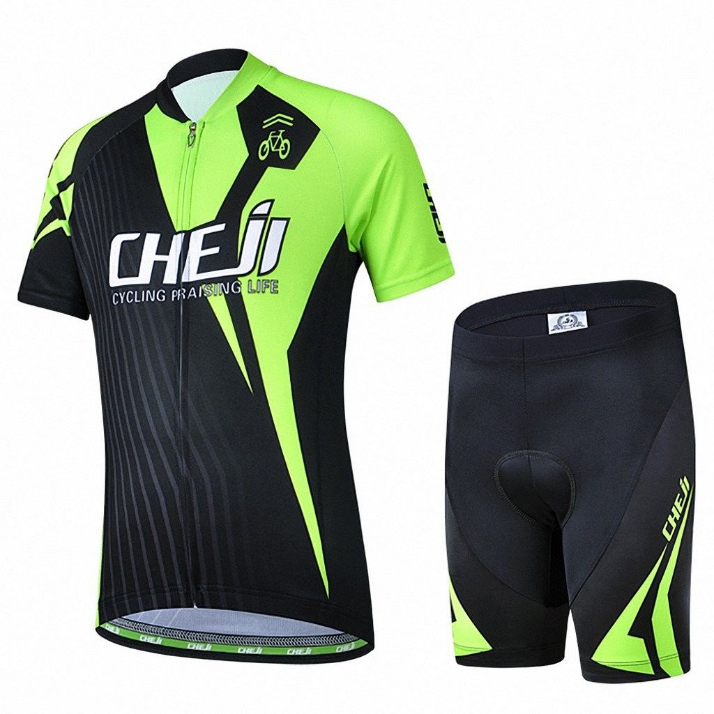 Children Boys Girls Cycling Jersey Set Short Sleeve With 3d Padded Shorts Racing Cz12ebfhkad Cycling Outfit Girls Bike Shorts Outdoor Outfit