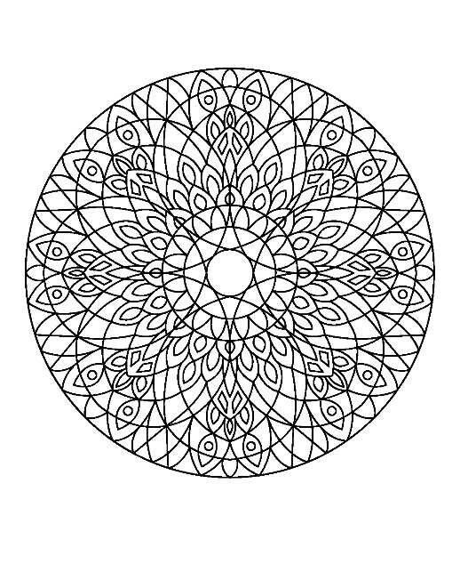 Pin de herminia tábara alvarez en mandalas pintar | Pinterest ...