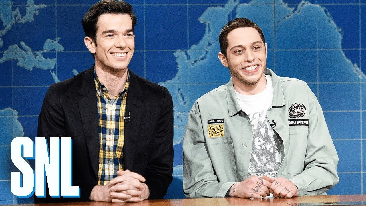 Weekend Update Pete Davidson And John Mulaney Review Clint