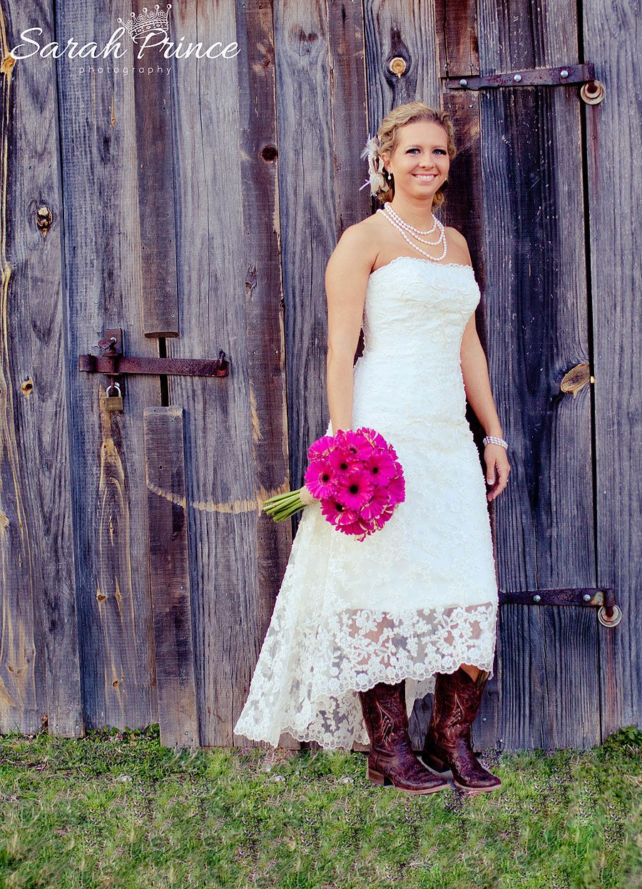 Non traditional western ivory or beige wedding dresses for Wedding dresses with cowgirl boots