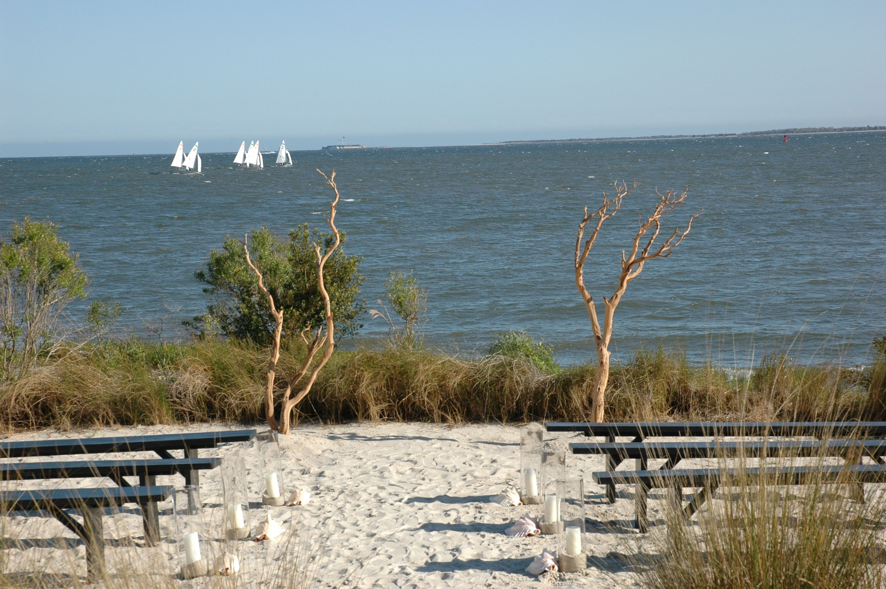 Have Your Wedding Here The Cottages On Charleston Harbor Harbor Wedding Cottage Charleston