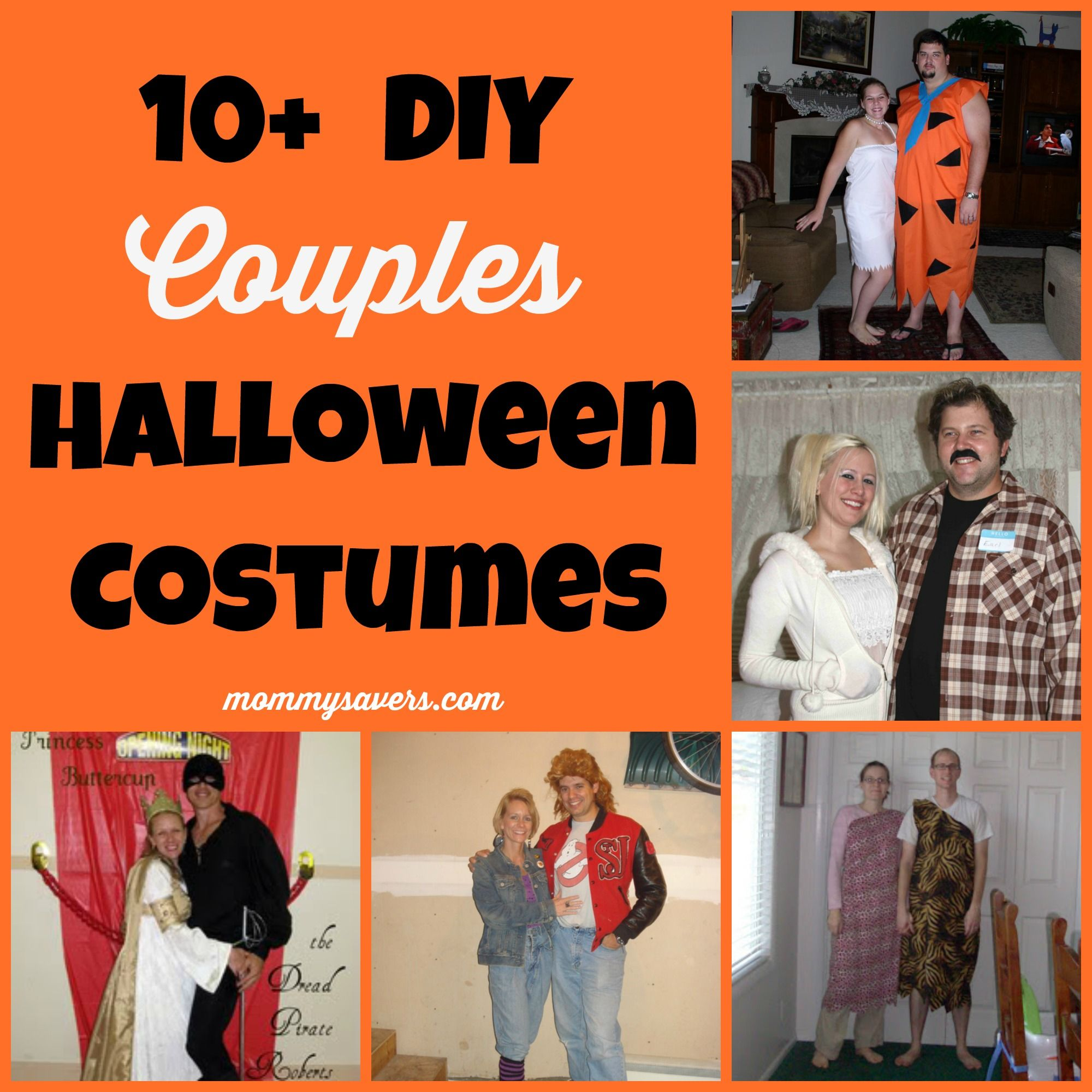 10 diy couples halloween costume ideas - Simple Diy Halloween Costumes For Adults