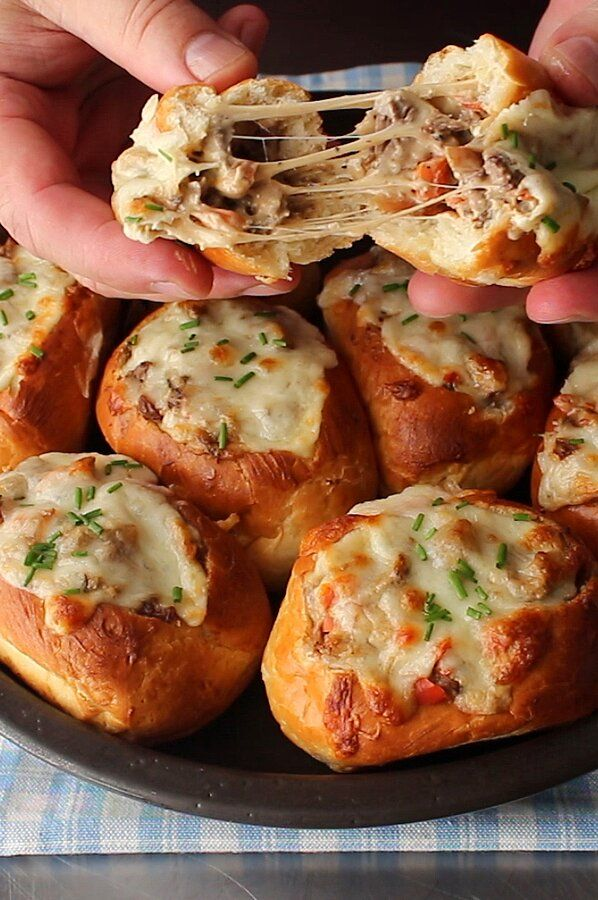 Photo of Baked Philly Cheesesteak Sliders