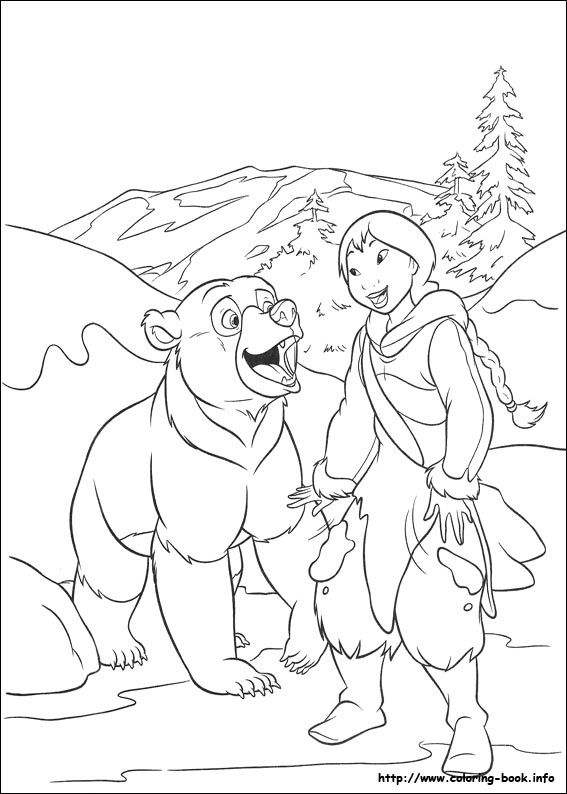 brother bear 2 coloring picture | coloring pages | pinterest ... - Brother Bear Moose Coloring Pages