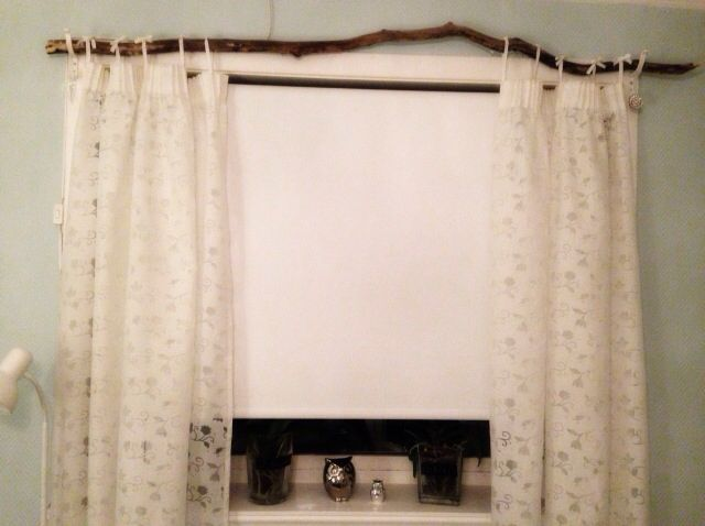 Got This Curtain Rod For Free And Made It Myself Loveit