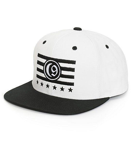 33e409b14f9 Ninth Hall Crescent 9 Starter Snapback Hat