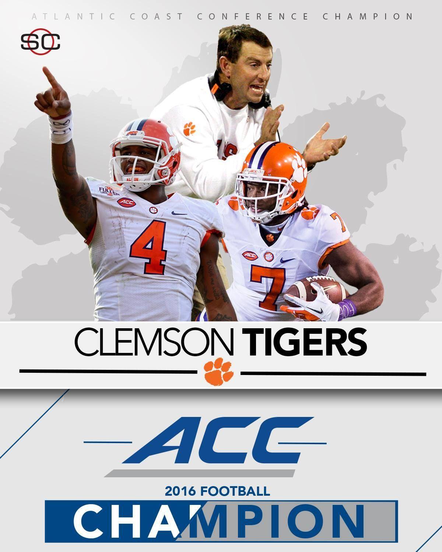 ACC CHAMPS! Clemson Football defeats Virginia Tech, 4235
