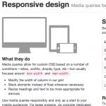 Twitter Bootstrap Responsive Grid Photoshop Templates (PSD) - Ben Stewart