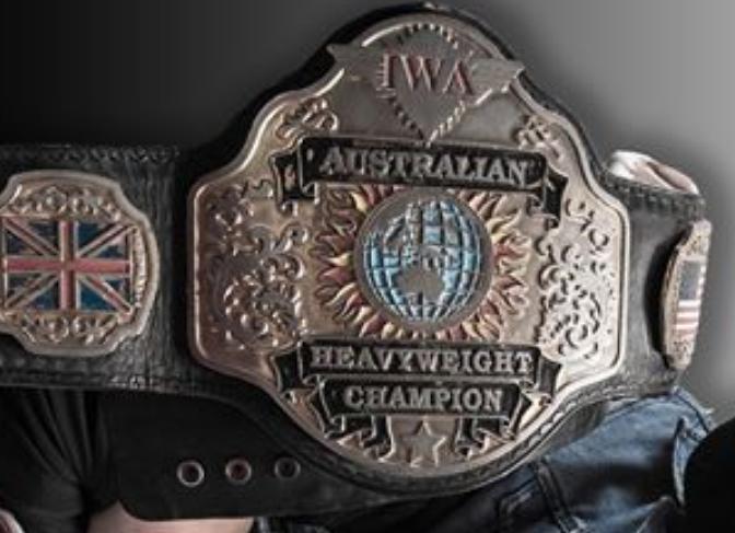 Iwa Australian Champion Nwa Wrestling Professional Wrestling Pro Wrestling