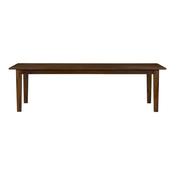 Basque Honey 104 Inch Dining Table Seats 10 Sustainable Solid