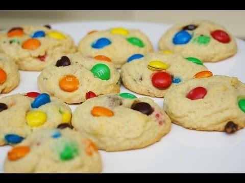 Une Recette A Refaire D Urgence De Delicieux Cookies Aux M M S Ou M M Cookies Tout Droit Venue Des Etats U Cookies Recette Cookies Et Biscuits Cookies Facile