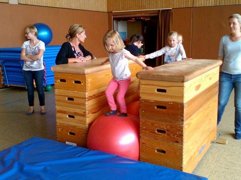 TuS Flomersheim  Eltern-Kind-Turnen  Kinderturnen