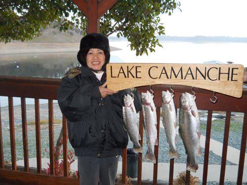 Lake camanche camping cabins fishing boating weather fun for Lake camanche fishing