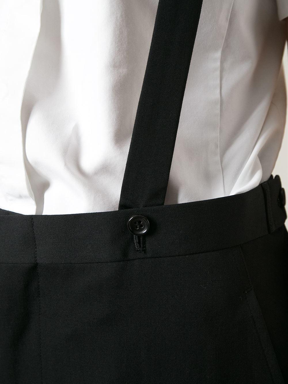 Comme Des Garçons Vintage 'robe De Chambre' Suspender Trousers - House Of Liza - Farfetch.com