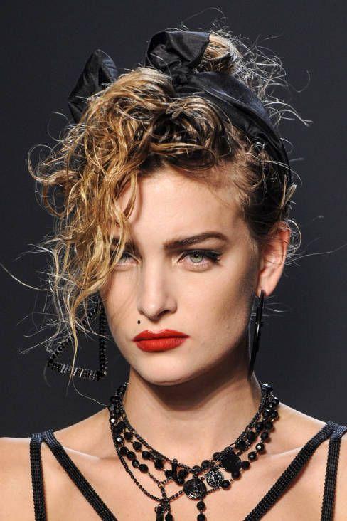 Jean Paul Gaultier Spring 2013 Ready To Wear Beauty Madonna 80s