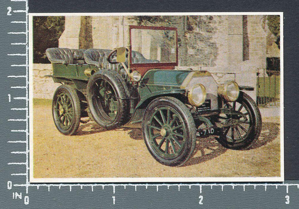 1903 Mercedes 60 HP Car Veteran Vintage Cars by Weston\'s Biscuits ...