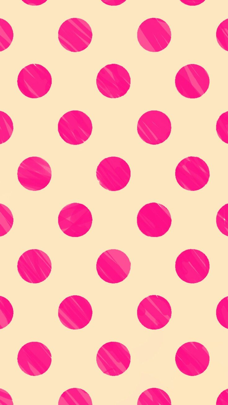 Pink Polka Dots More Iphone Wallpapers In 2019 Pink