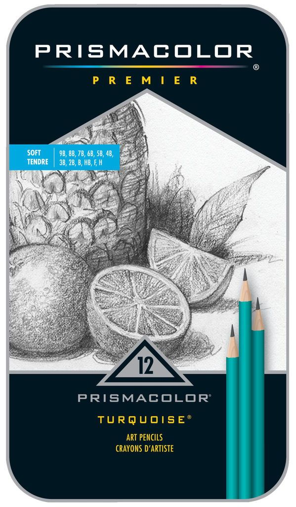 Prismacolor Premier Turquoise Soft Graphite Pencil Set