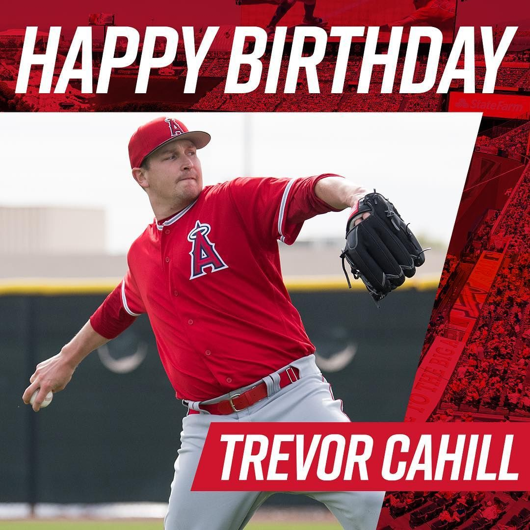 Los Angeles Angels Happy Birthday Trevor With Images Los