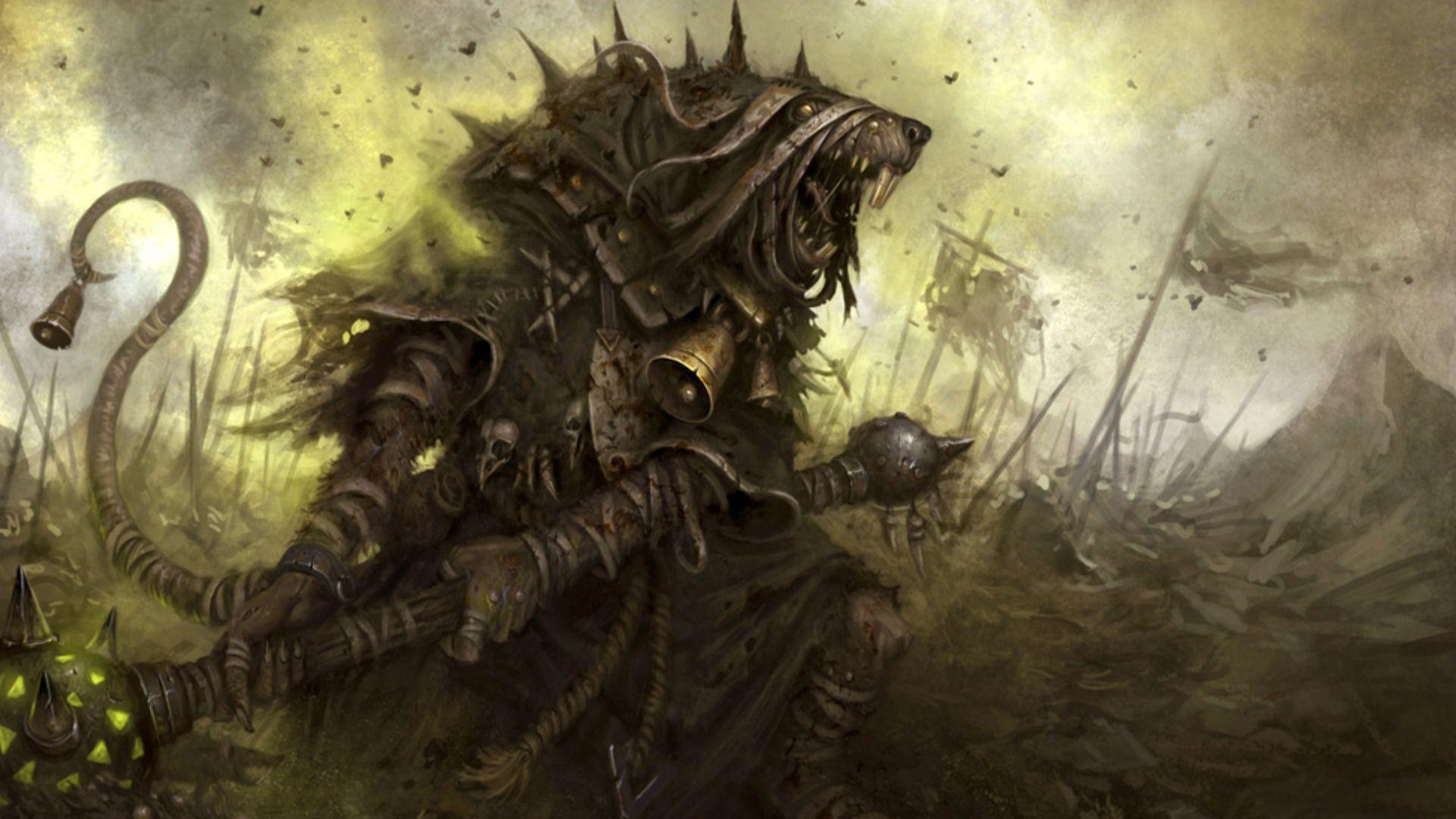 Fantasy Creatures Skaven Wallpaperbackground 1920 X 1080