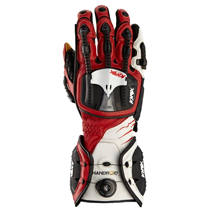 Knox Handroid Motorcycle Gloves Red, - playwellbikers.co.uk - http://playwellbikers.co.uk/gloves/knox-handroid-motorcycle-gloves-red/