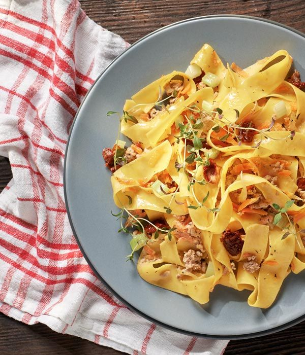 Pappardelle Ragout Bianco Wedlug Karola Okrasy Przepis Recipe Ragout Pappardelle Food