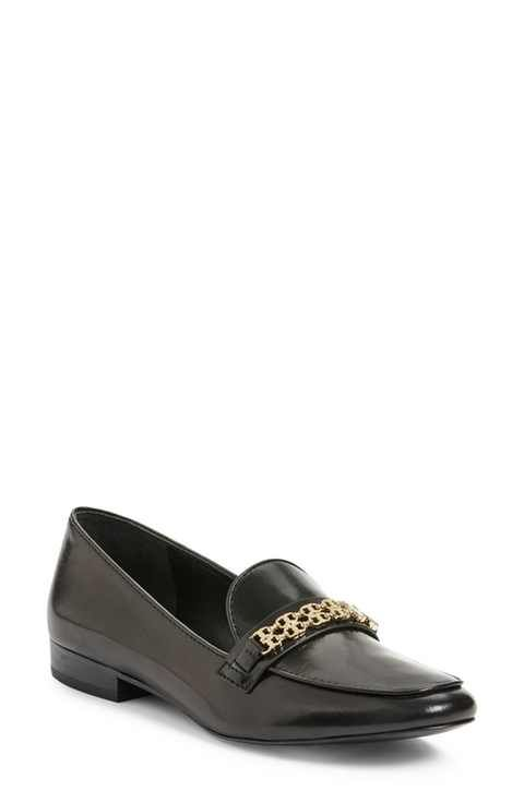 097231ca4bebf0 Tory Burch  Gemini  Link Loafer (Women) Black Loafer Shoes