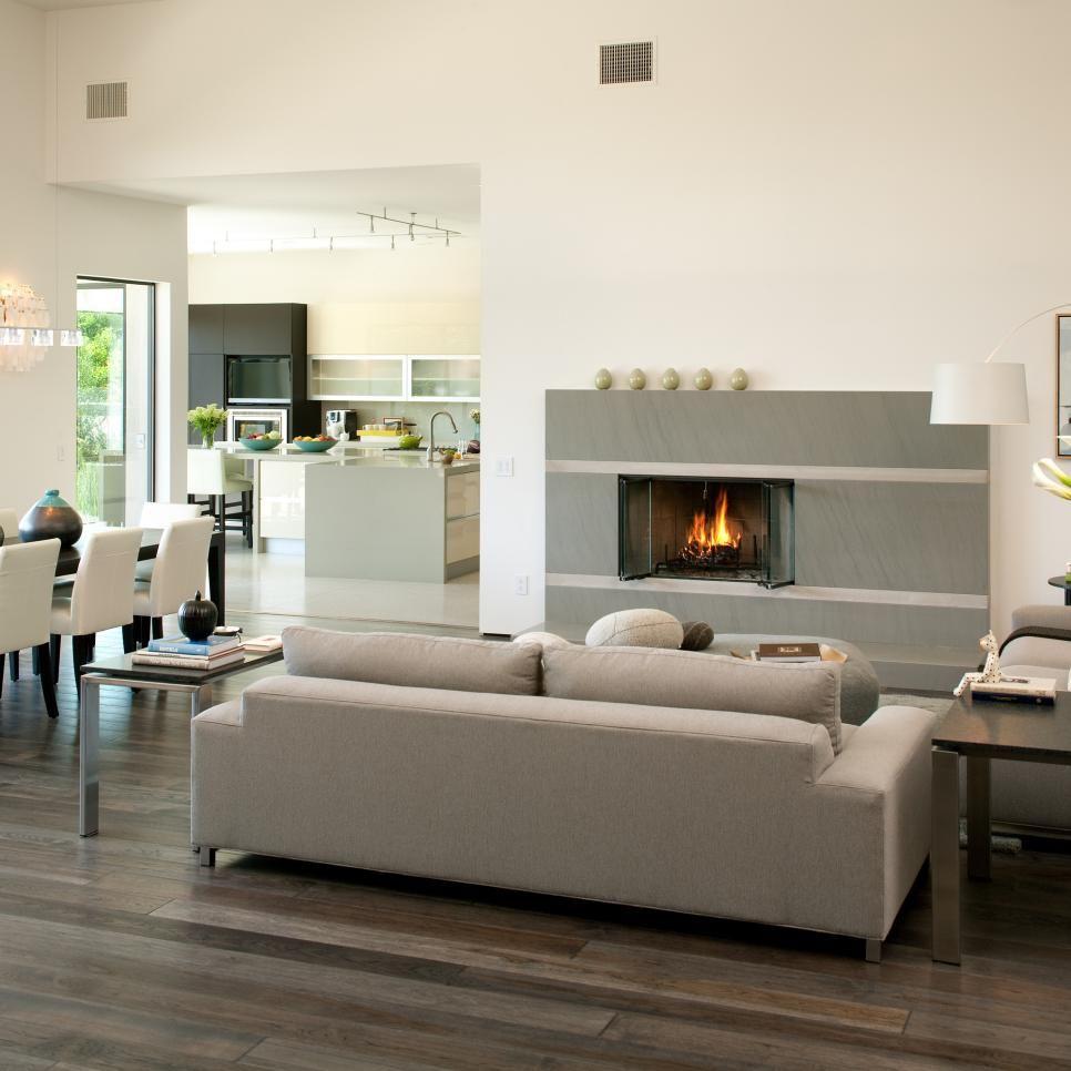 Hgtv Home Design Ideas: Contemporary Living Room Design
