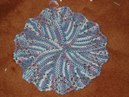 Knitted with short rows Not hard | Dishcloth knitting ...