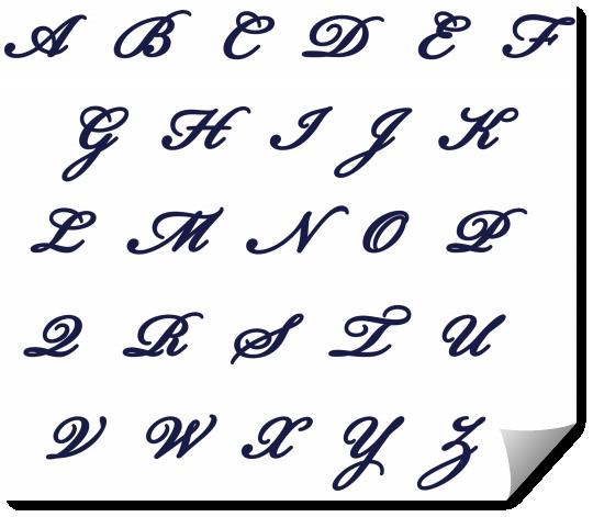 Incroyable Comment écrire en calligraphie   Alphabet en calligraphie, Style UL-68