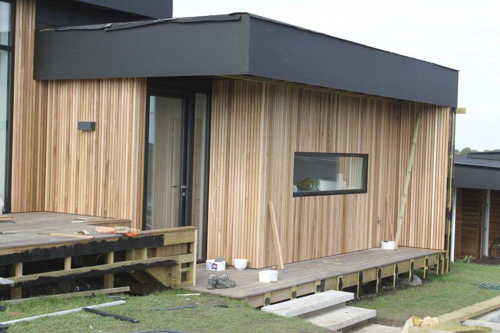 Cedertræs beklædning | Huset i Bakkeskoven | Pinterest | Outdoor decor, Outdoor storage og Outdoor