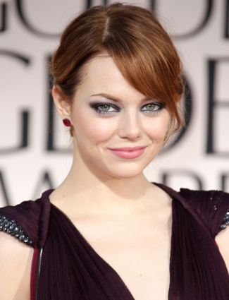 Her golden globes redhead for the