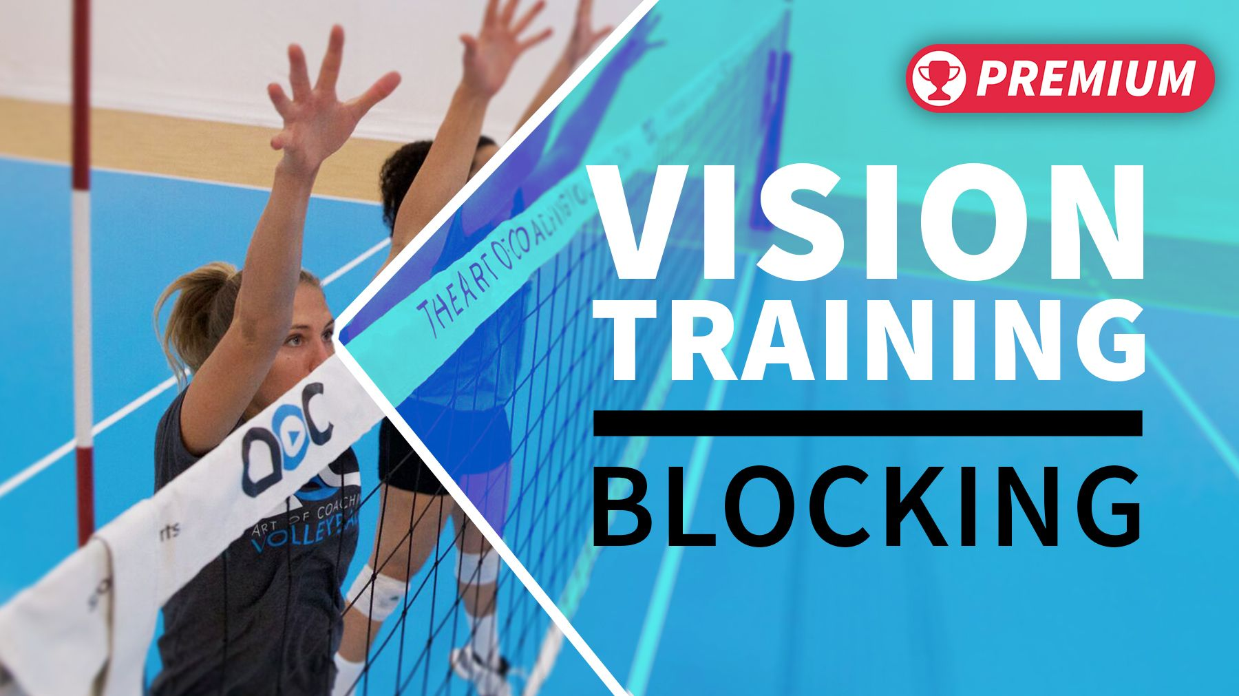 Vision Training Blocking And Reading The Play Early Vision Training Coaching Volleyball Volleyball Drills