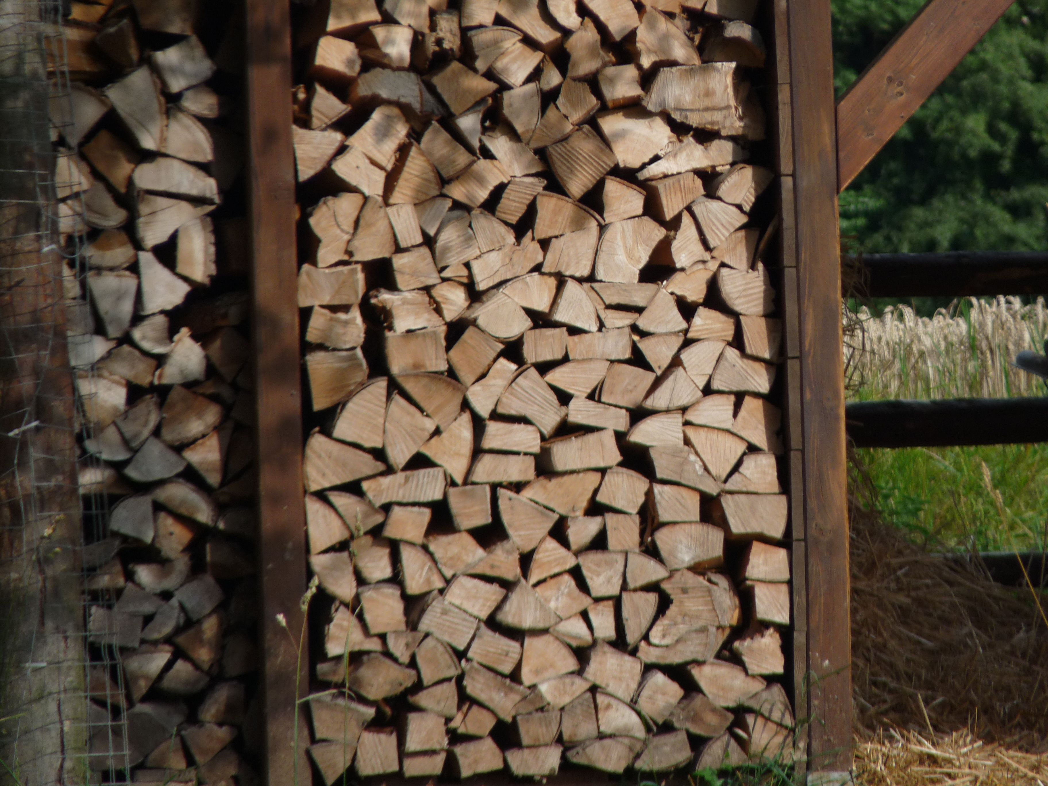 Der Winter kann kommen #Holz #Winter #Kamin