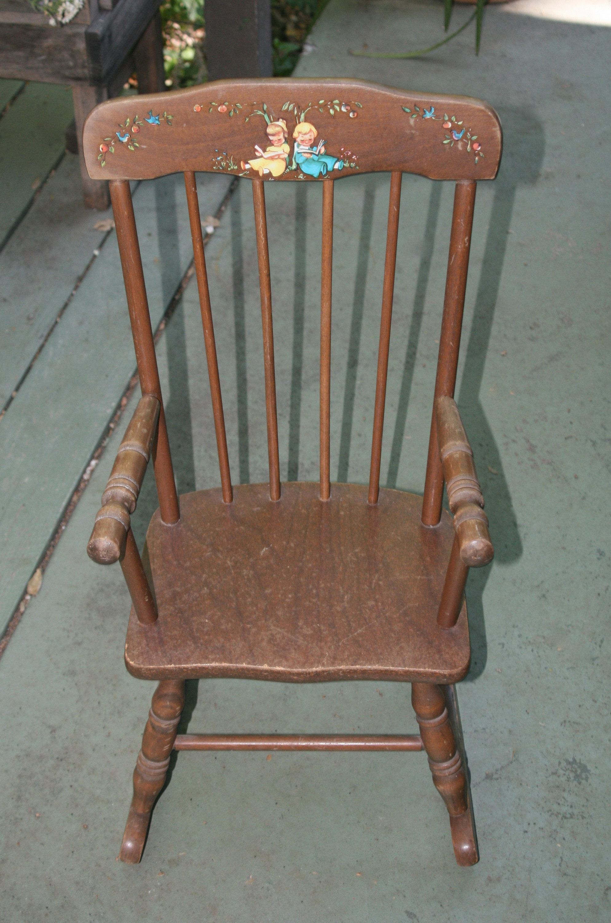 Hedstrom Solid Wood Kids Rocking Chair Hedstrom Child S Wooden
