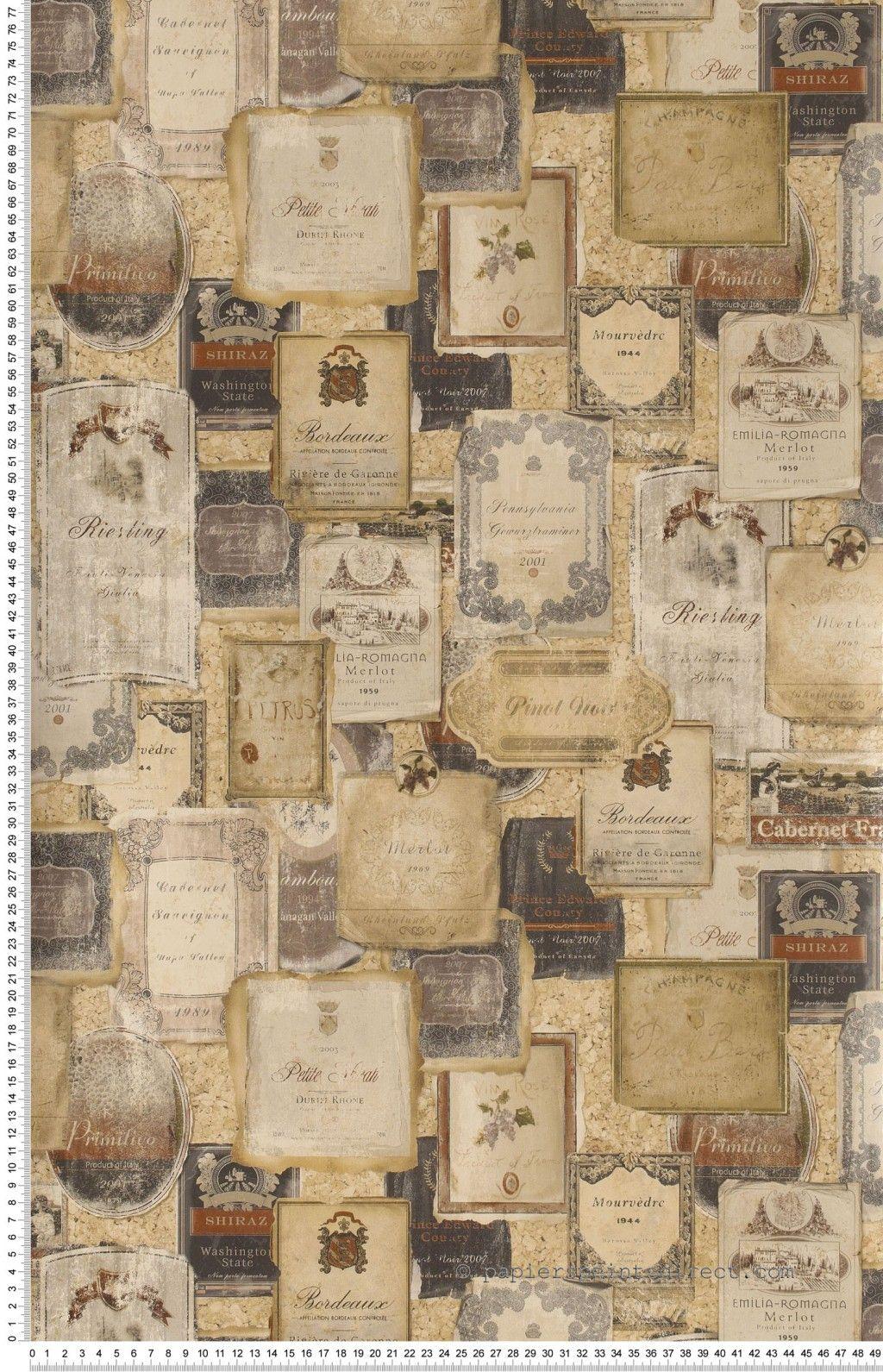 etiquettes de vin rouge papier peint th mes of life d 39 initiales chambre invit s pinterest. Black Bedroom Furniture Sets. Home Design Ideas
