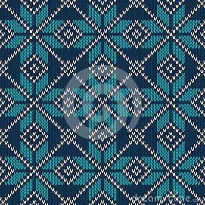 Estilo escandinavo patrón de tejido sin costuras. Textura de lana de ...