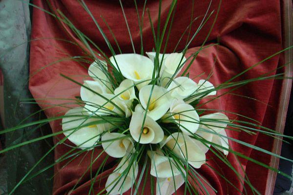 bouquet da sposa calle bianche