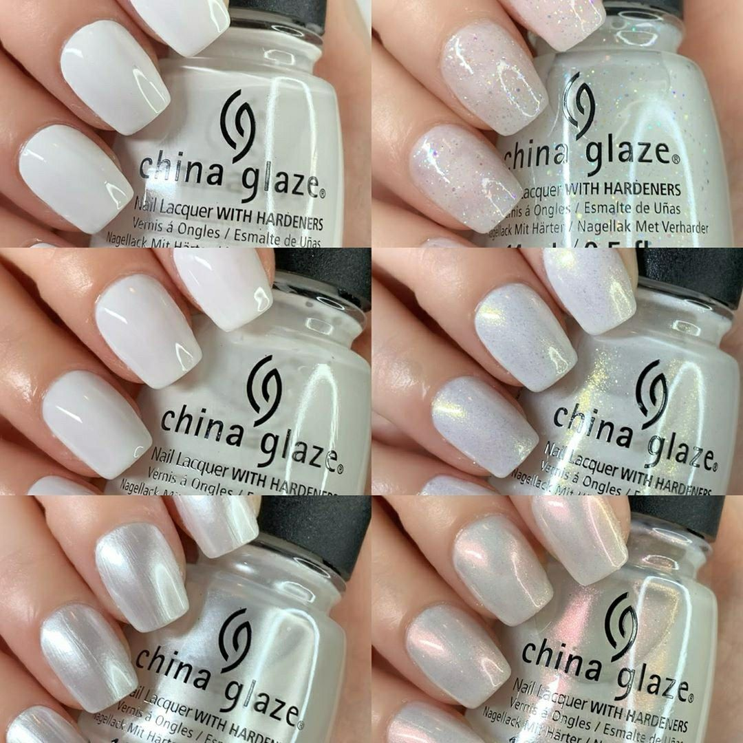 China Glaze summer 2020 White Hot collection in 2020