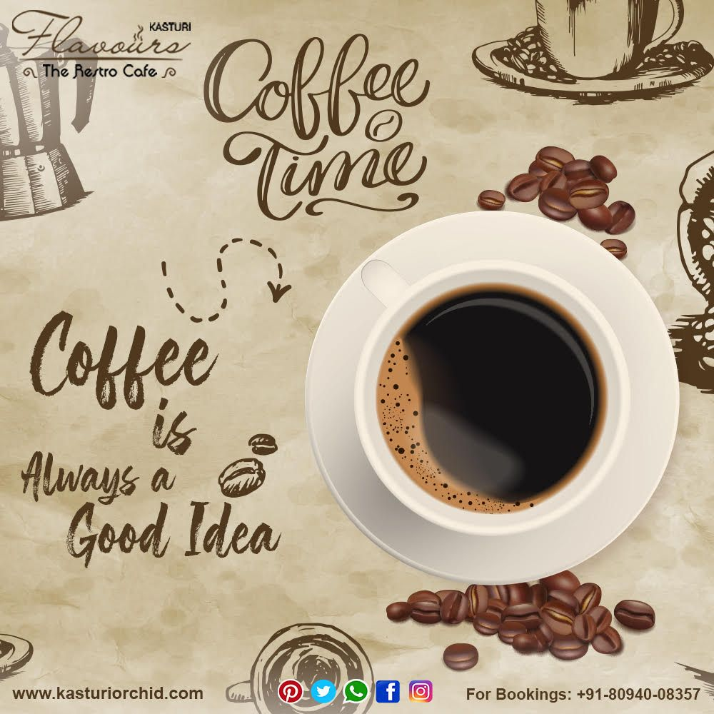 To kick start morning one need a Good cup of Coffee