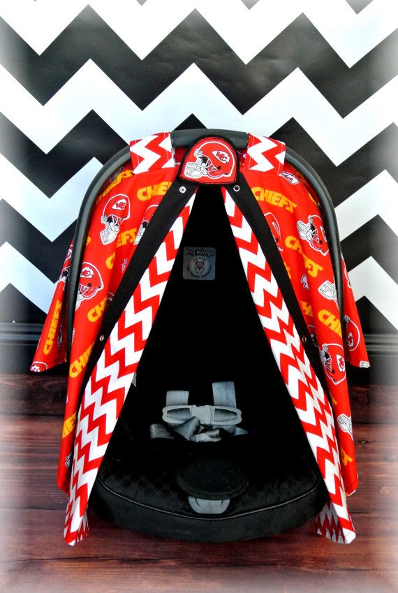 Kansas City Chiefs Car Seat Canopy Car Seat By