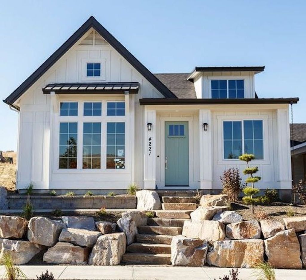 Amazing House Exterior Design Inspirations Ideas 201704