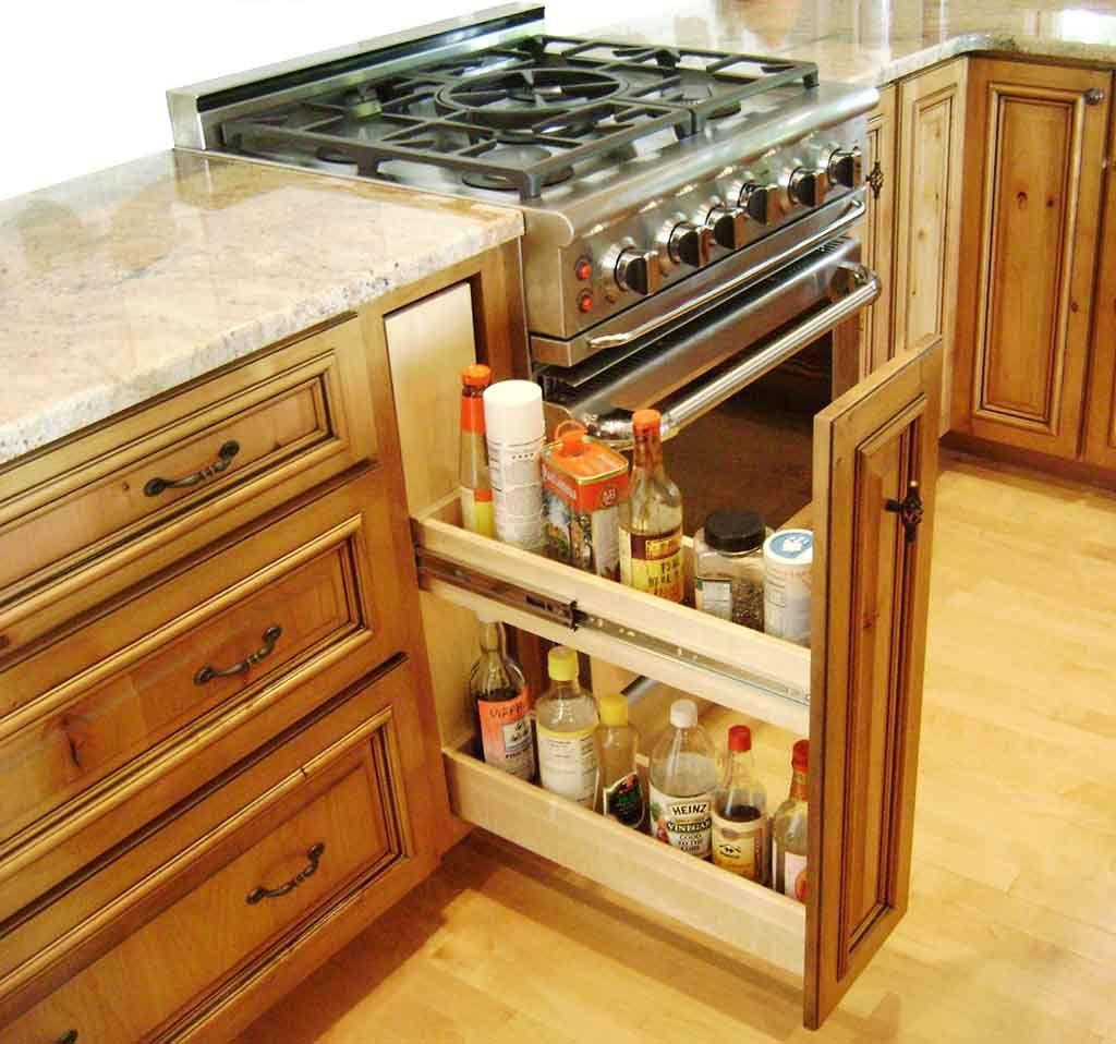 Kitchen storage ideas shelves jars racks and organizers