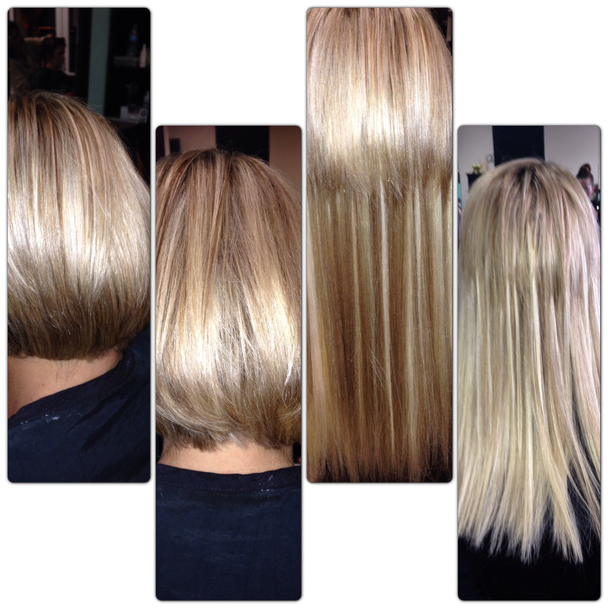 Transforming a short bob to long hair she will have to curl her transforming a short bob to long hair she will have to curl her hair or style pmusecretfo Image collections