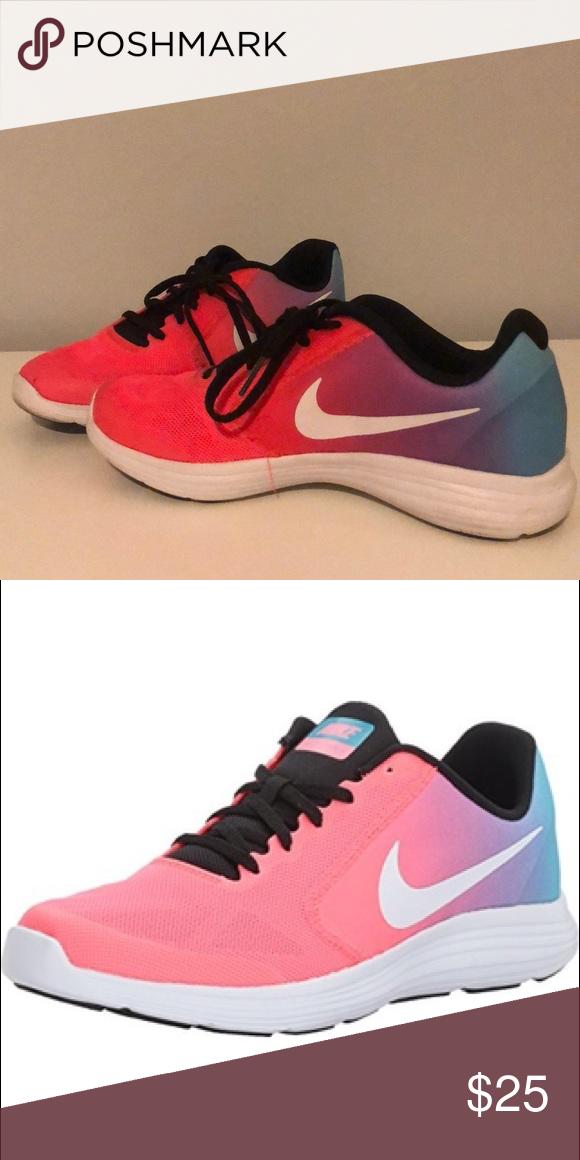 Kids Nike Girls Tennis Shoes Kids Nike Girls Revolution 3 Running Shoes Nike Shoes Athletic Sho Nike Shoes Girls Sports Shoes For Girls Nike Shoes Girls Kids