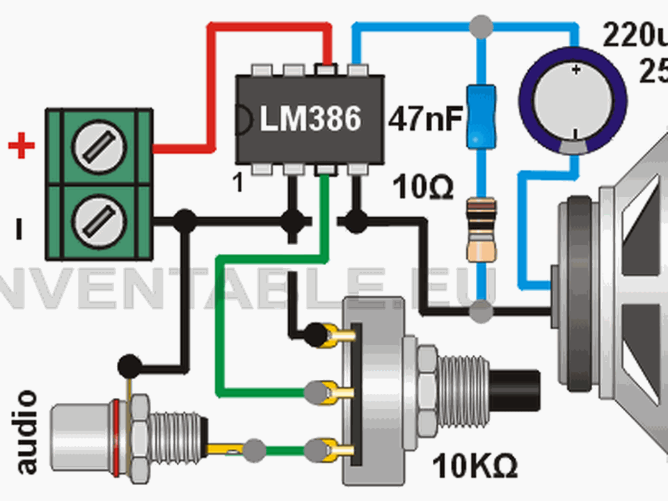 6 mini-circuitos