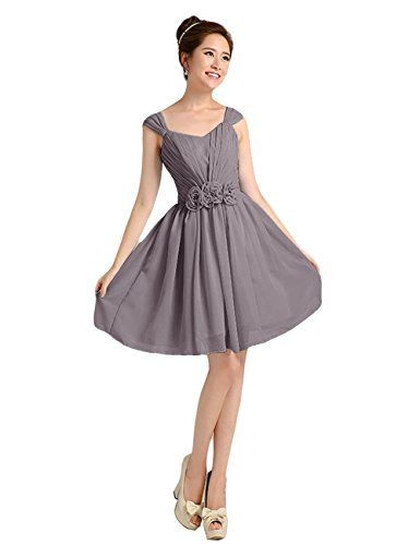 Tidetell Short Prom Bridesmaid Dresses With Chiffon Cap sleeves Grey Plus Size 20W Tidetell http://www.amazon.com/dp/B00OEM02OE/ref=cm_sw_r_pi_dp_jH-6ub0ZFKRJB