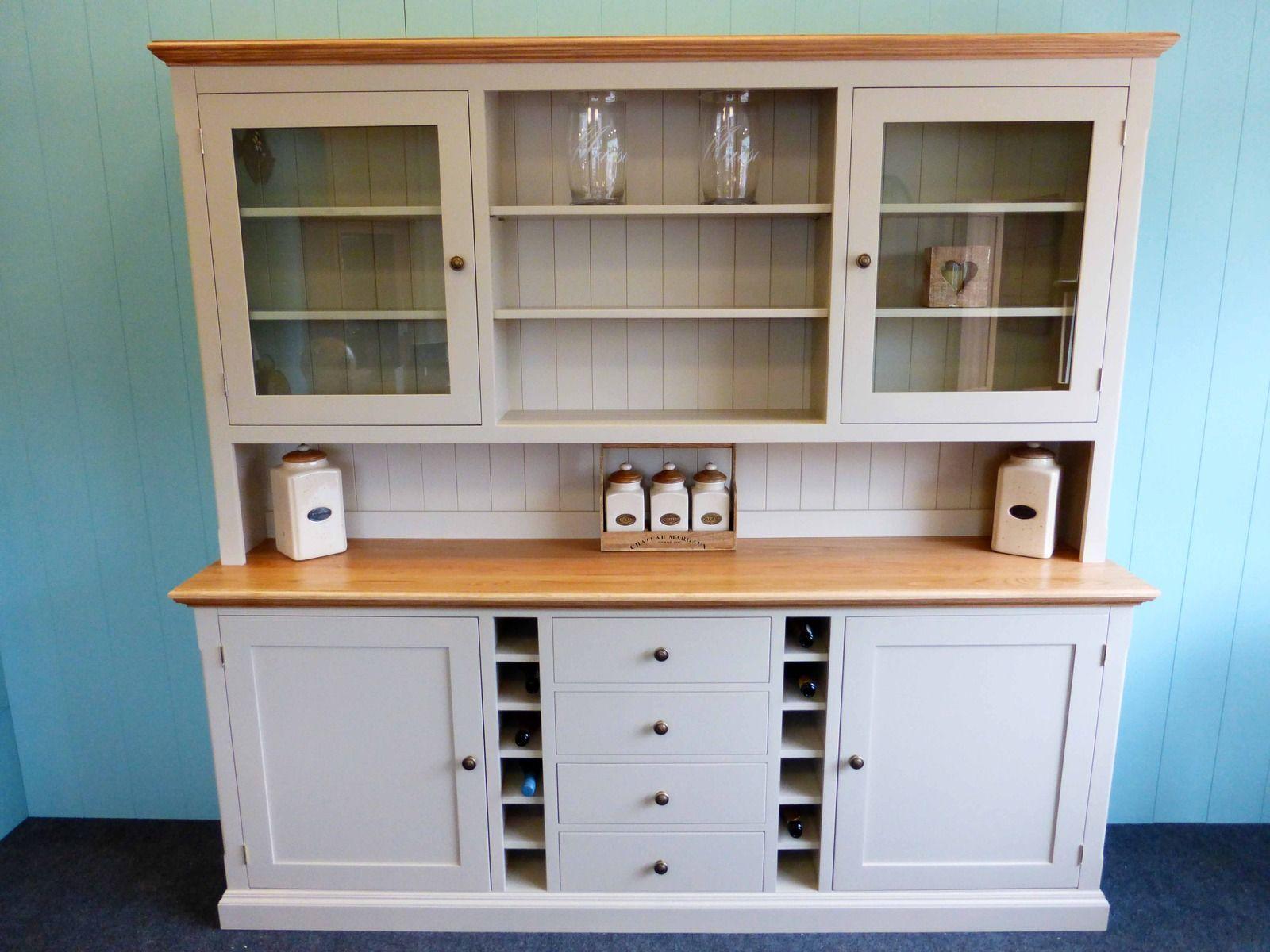 Bespoke Painted Dresser With Wine rack - Bespoke Kitchen ...