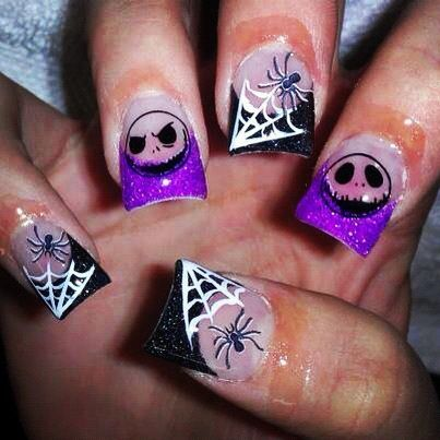 Beside fuck lovee, we will also get nightmare before christmas and nails  design ideas from the image. what do you think? | nail ideas | Pinterest |  Nail ... - Beside Fuck Lovee, We Will Also Get Nightmare Before Christmas And