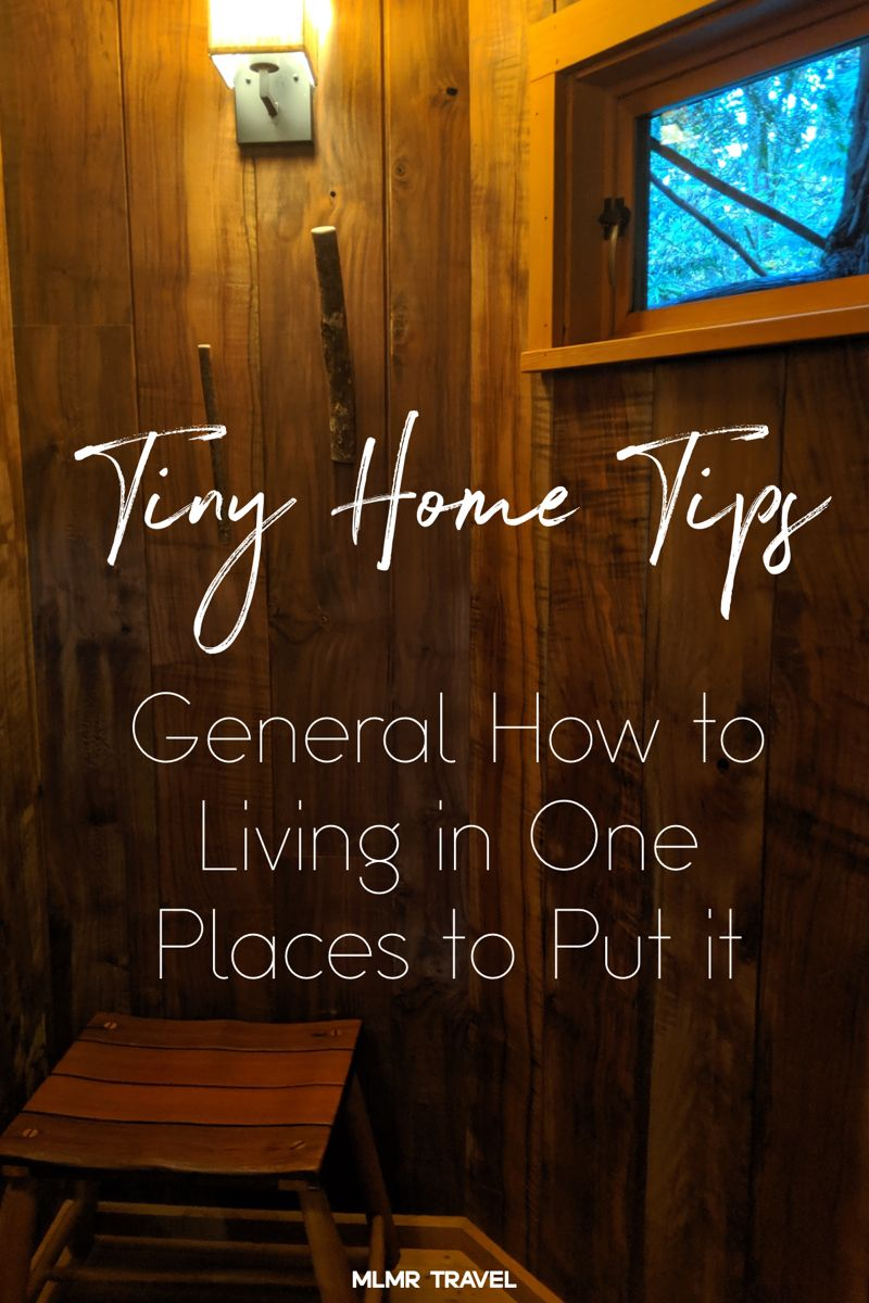 Tips for tiny home dwellers and overall nomads #nomadlife #tinyhousemovement #tinyhometinyhouselife #livesmall
